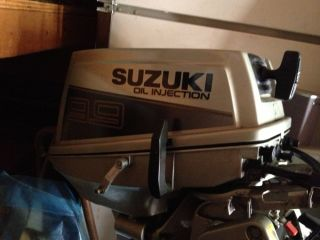 Suzuki 9 9 Outboard Motor Electric Start Oil Injection