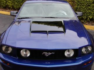 05 09 Mustang 67 GT RAM Air Functional Hood Body Kit