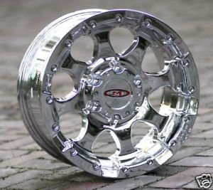 16 inch Chrome Wheels Rims Moto Metal 955 Chevy GMC 1500 Trucks 6 Lug 6x5 5