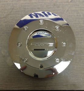 "Forte Wheels F29 Fatboy Chrome Wheel Center Cap MT29 Hede 7"" Diameter New"