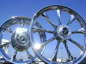 Honda Fury VT1300 VT 1300 VT1300CX Chrome Wheels Rims