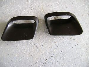 1968 69 70 Pontiac GTO RAM Air Hood Scoops Black