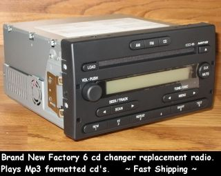 Ford Ranger F150 6 Disc CD  Player Changer Radio