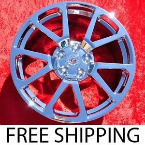 "Set of 4 Cadillac cts V Coupe 19"" Factory Chrome Wheels Rims 4647 Exchange"