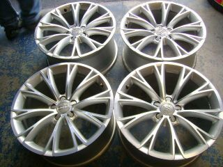 "19"" Audi Original Alloy Wheels Rims Used Set of 4 A4 A5 A6 A7 A8"