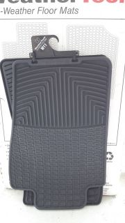WeatherTech W11 Front All Weather Floor Mats