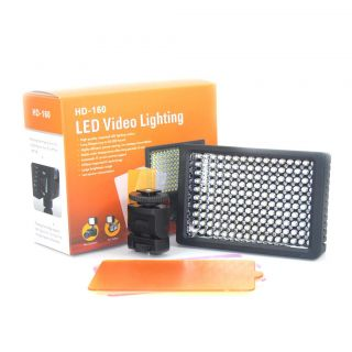 Super Power HD 160 LED Video Light for Camera DV Camcorder Canon Nikon Sony
