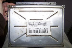 16236757 Pontiac Oldsmobile ECM Engine Computer ECU