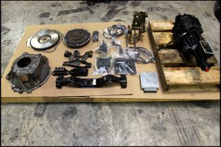 Ford Mustang T5 Transmission Conversion Kit HD Rebuilt World Class Fox 5 0 MPS