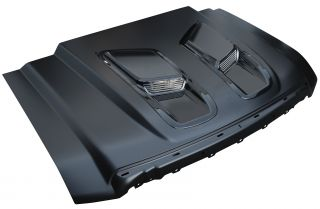 2008 2010 Super Duty Ford Pickup RAM Air Style Hood