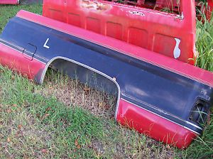 73 87 Chevy Truck Bed