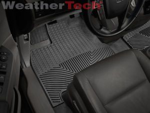 Weathertech® All Weather Floor Mats 2011 2013 Honda Odyssey Black