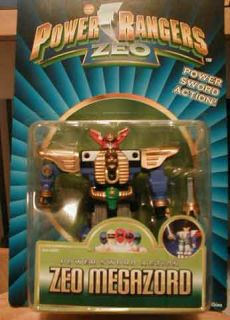 "Zeo Megazord 1996 Bandai 5 5"" Action Feature Zeo Megazord Power Rangers Zeo"
