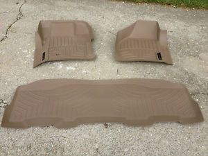 Ford F 350 WeatherTech Floor Mats