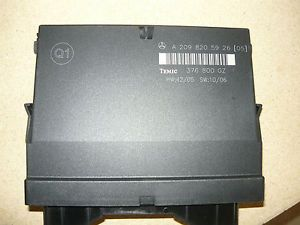 Mercedes W209 CLK Class All Engine Control Module Unit Temic Computer Top