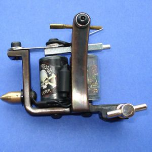 Super Handmade Tattoo Machine Gun Supply 10 Wrap Coils