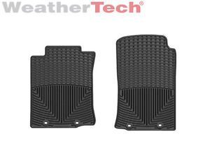 Weathertech® All Weather Floor Mats Toyota Tacoma Regular Cab 2012 2013 Black