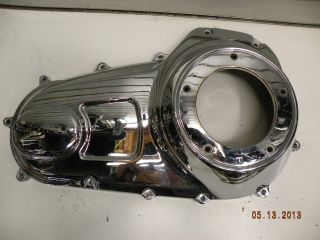 Chrome Primary Clutch Cover Harley Touring Road King Glide Classic Street 2007