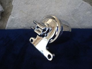 Chrome Oil Filter Adaptor Kit for Harley Davidson Big Twin and Sportster