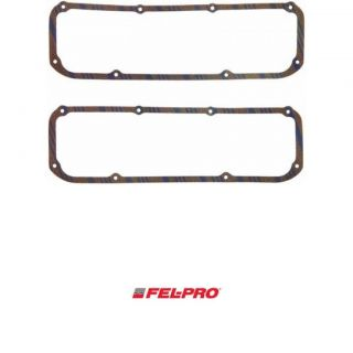 Felpro FEL Pro Valve Cover Gasket Blue Stripe Cork Rubber Suit Ford 289 3 FE1615