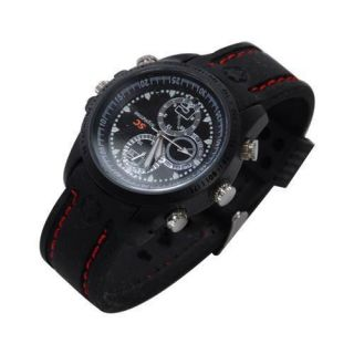 Hidden Covert Mini Spy Camera Video Recorder Waterproof Watch DVR