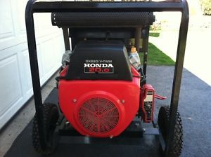 Dayton 10K Watt Portable Generator with Honda 20HP Engine Electric Start EXC