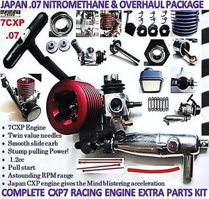 Engine Carberator 07 Nitro Japan 7CXP RC Truck Car Race Gas Motor Tons Parts