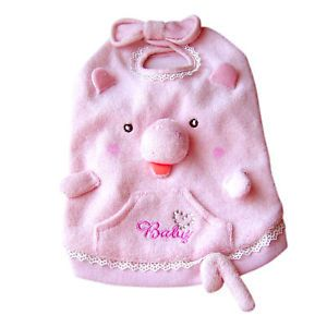 Pink Pig Pet Dog Halloween Costume Apparel M