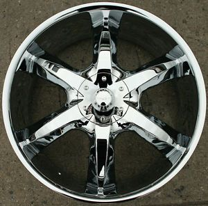"Akuza Lacuna 760 22"" Chrome Rims Wheels Cadillac cts 08 Up 22 x 8 5 5H 35"