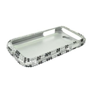 Silver Zebra Bling Hard Case Cover Samsung Galaxy Exhibit II 2 4G T679 Accessory