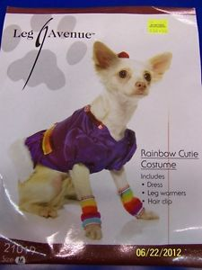 Rainbow Cutie Brite Blue Cute Dress Up Halloween Pet Dog Cat Costume