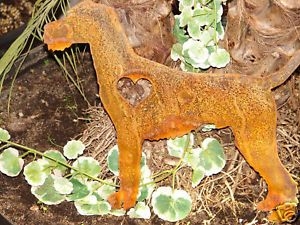 Irish Terrier Pet Dog Memorial Garden Stake Lawn Yard
