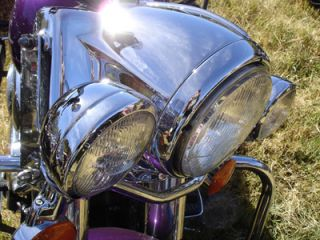 Chrome Headlight Nacelle for Harley Fatboy Heritage