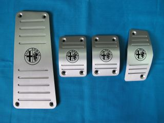 Alfa Romeo Mito 1 4 Multiair Aluminum Manual MT Pedal Pads Covers Set