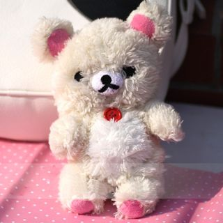 1pc Cute Cartoon Plush Teddy Bear 3D Toy Doll Cover Case for iPhone 4 4G 4S 5 5g