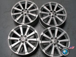 "Four 09 11 Toyota Venza Factory 19"" Wheels Rims 69557 Highlander 426110T020"