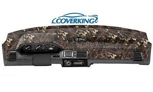 Dodge RAM Truck 1998 2001 Coverking Dash Board Dash Mat Cover Mossy Oak Camo