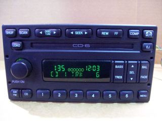 Ford F150 F250 CD 6 Disc Player Changer Radio 3C7T 18C815 CB 2001 2002 2003