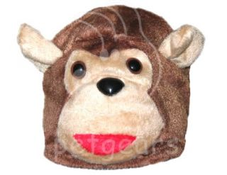 Pet Dog Cat Monkey Halloween Costume Brown Small Apparel Size 10 12 14 18