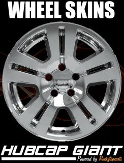 "Ford Edge 17"" Chrome Wheel Skins 2007 2012 Set of 4"
