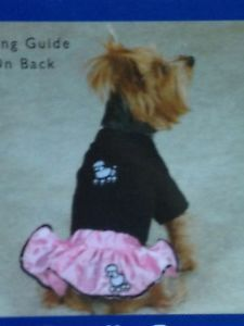 Poodle Skirt 50's Pink Lady Dog Pet Halloween Costume Size s Small New