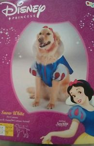Disney Princess Snow White Pet Dog Halloween Dress Up Costume Size Small