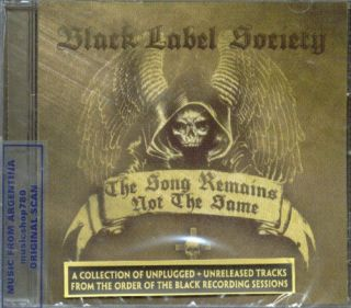 Black Label Society The Song Remains not Same CD 2011