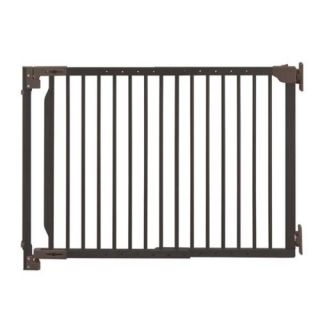 Richell Auto Lock Expandable Walk thru Pet Dog Gate