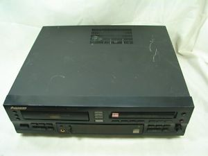 Pioneer PDR W739 CD Recorder 3 Multi Disc Changer Player CD R