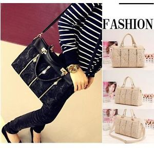 Hot New Oblique Carry Casual Big Bag Retro Lace Bags 2012 Lady's Handbags Z024