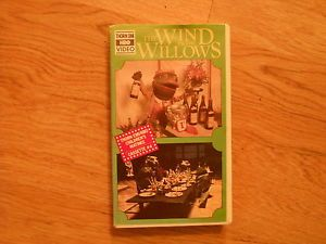Thorn EMI HBO Video The Wind in The Willows Childrens Matinee 4 Animated VHS