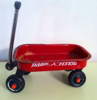 Vintage Radio Flyer Little Red Wagon Doll Pull Classic Kids Toy Small Childrens