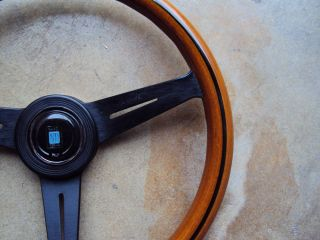 Nardi Classic Wood Steering Wheel Black Face 360mm Mercedes Benz Porsche VW JDM