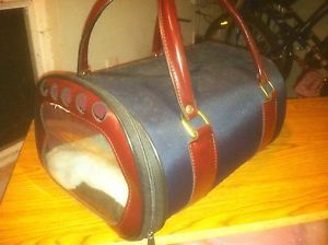 Bobby Small Pet Cat Dog Carrier Nice Made in France